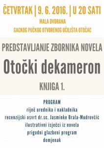 Plakat - DEKAMERON